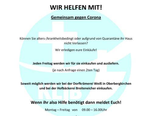 Einkaufshilfe in der Gemeinde Oberbergkirchen
