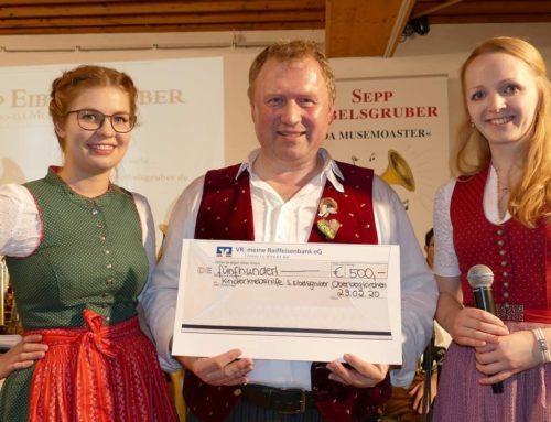 KLJB Oberbergkirchen spendete für krebskranke Kinder