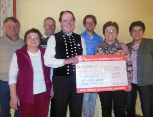 Schafhaltervereinigung Mühldorf mit großzügiger Spende