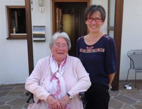 Else Baumann feierte 90. Geburtstag