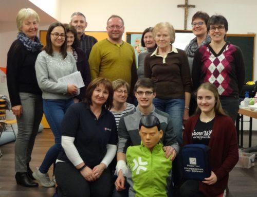 Erster-Hilfe-Kurs in Zangberg absolviert