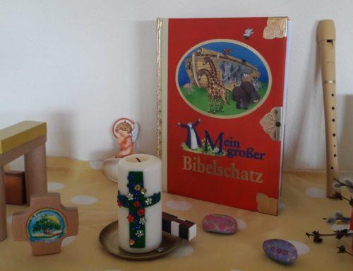 Oberbergkirchner Kinderkirche feierte Osterfest zu Hause