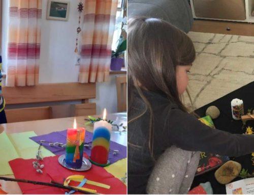 Lohkirchner Kinder feierten zu Hause Oster-Kinderkirche