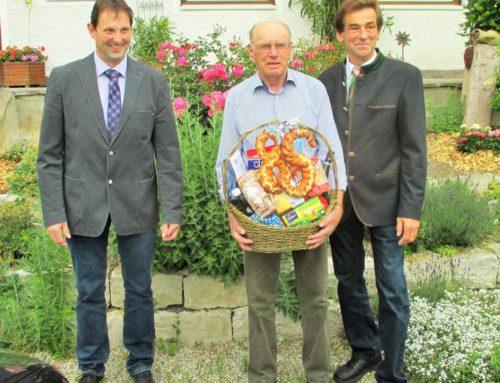 Josef Reindl feierte 85. Geburtstag