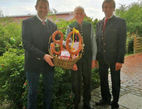 Alphons Niederschweiberer feierte 90. Geburtstag