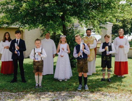 Erstkommunion in Lohkirchen gefeiert