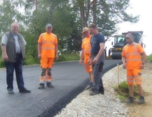 Straßensanierung in Schönberg schreitet voran