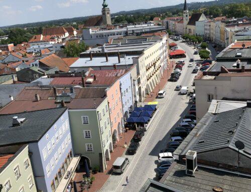 Betriebsausflug der Verwaltungsgemeinschaft Oberbergkirchen nach Mühldorf
