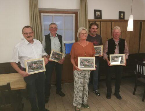 Ehemalige Gemeinderäte von Lohkirchen verabschiedet