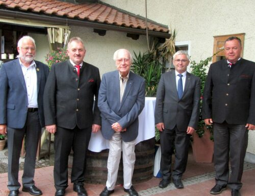 Adam Holzner feierte 90. Geburtstag