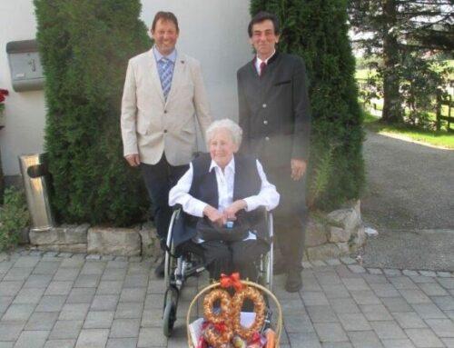 Maria Demmelhuber feierte 90. Geburtstag