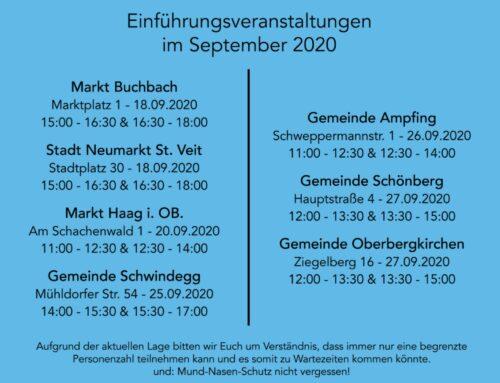 Oberbergkirchens E-Mobilität mit dem Mümo