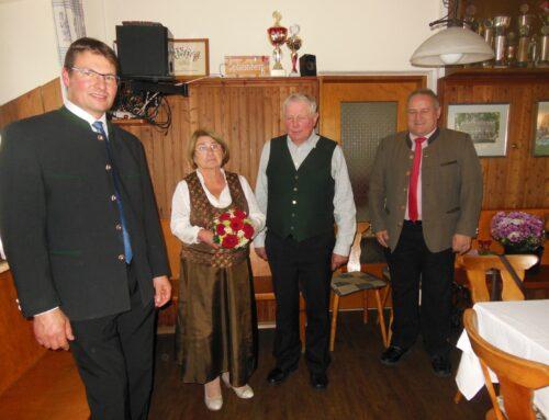 Goldene Hochzeit im Hause Freilinger in Schönberg