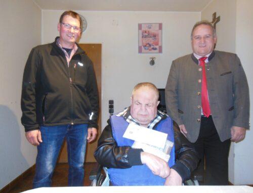 Alfons Huber feierte 80. Geburtstag