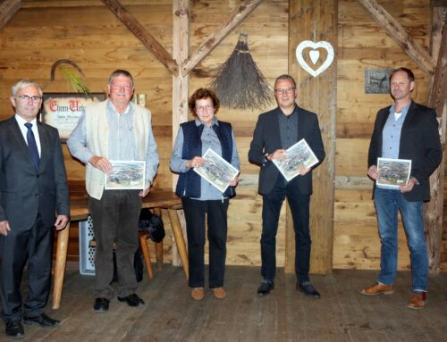 Gemeinde Oberbergkirchen ehrte ausgeschiedene Gemeinderäte