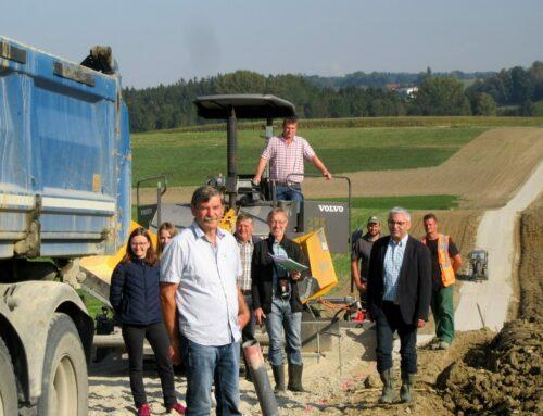 Flurneuordnung in Oberbergkirchen neigt sich dem Ende zu