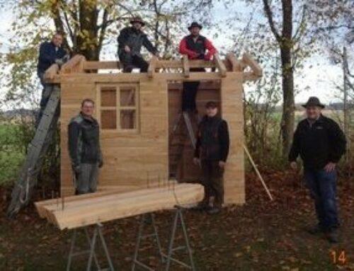 Kita St. Michael in Schönberg erhielt neues Gerätehäuschen