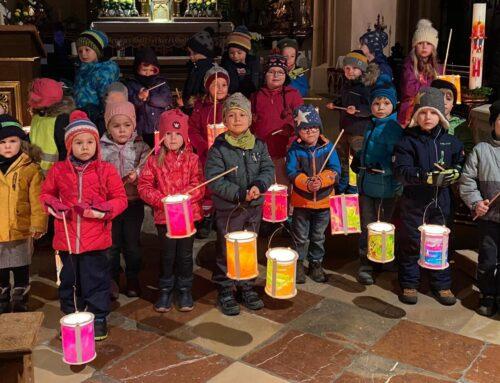 Lohkirchner Kindertagesstätte feierte Martinsfest
