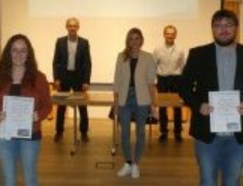Gemeinde Zangberg ehrte besondere schulische und sportliche Leistungen