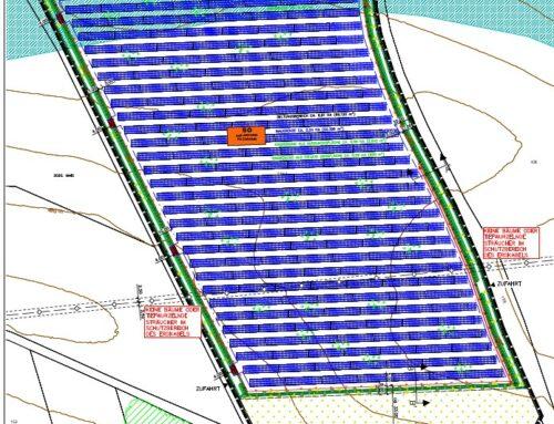 """Bekanntmachung zur Aufstellung des Bebauungsplanes """"Solarpark Fuchshub"""""""