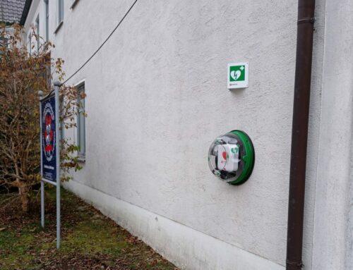 Defibrillator in Lohkirchen installiert