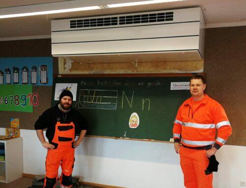 Gemeinde Lohkirchen rüstet Schulzimmer mit Lüftungsanlage aus