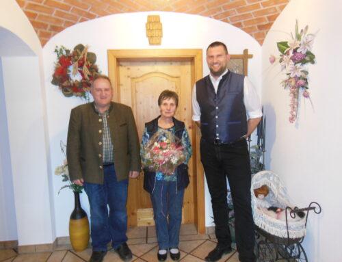 Maria Denk feierte 80. Geburtstag
