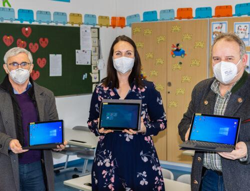 Schulverband Oberbergkirchen ist mit modernen Tablets ausgestattet