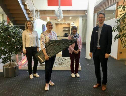 Musikfreunde Oberbergkirchen/Zangberg freuen sich über neue E-Zither