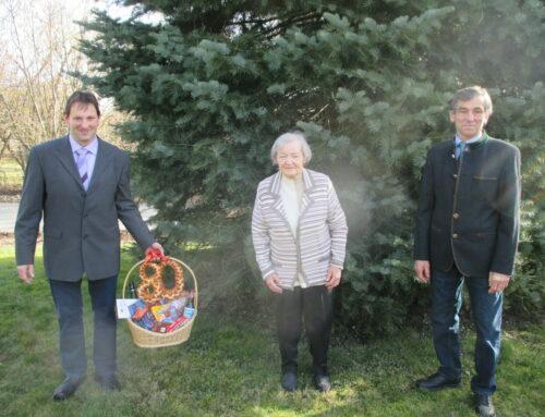 Maria Merwald feierte 80. Geburtstag