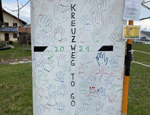 Lohkirchen bot dieses Jahr einen Kreuzweg to go