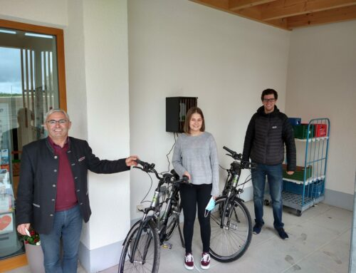 Gemeinde Oberbergkirchen bietet E-Bikes zum Ausleihen an