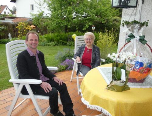 Annemarie Eggert feierte 85. Geburtstag