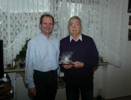 Otto Windt feierte 85. Geburtstag