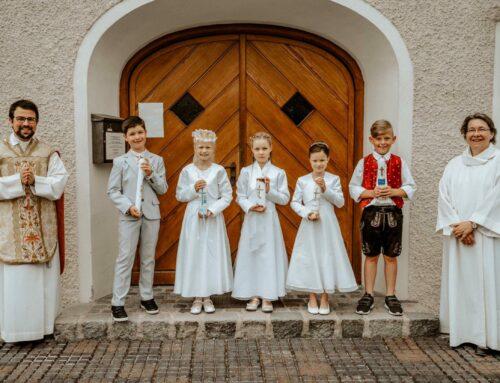 Pfarrei Lohkirchen feierte Erstkommunion