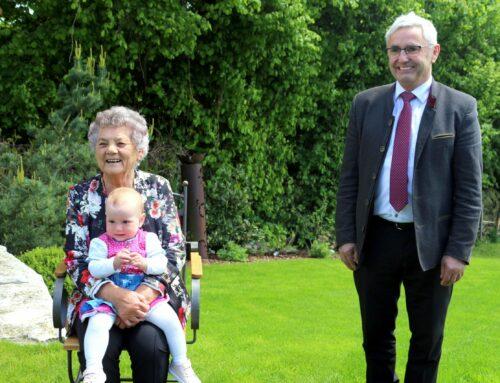 Irmgard Greimel feierte 80. Geburtstag