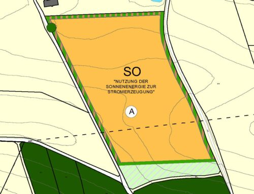 Bekanntmachung zum Flächennutzungsplan der Gemeinde Schönberg
