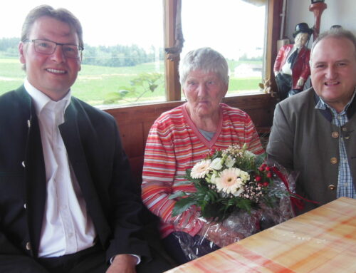 Emma Geiß feierte 85. Geburtstag