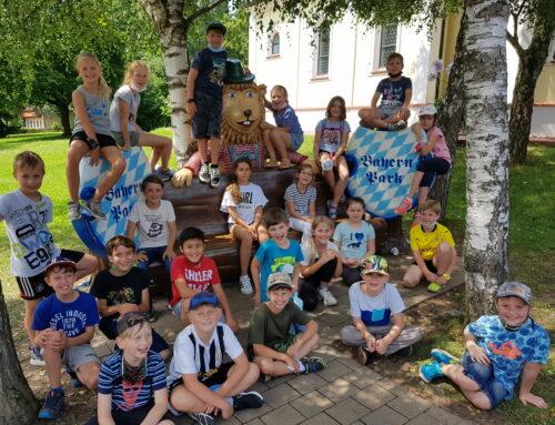 Grundschule Oberbergkirchen unternahm Ausflug in den Bayernpark