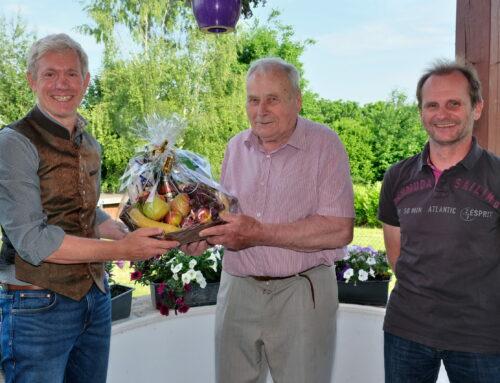 Gerhard Fiebiger feierte 85. Geburtstag