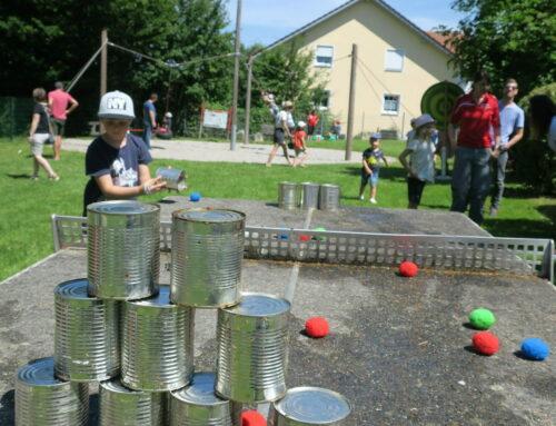 Spielplatzfest in Oberbergkirchen war ein voller Erfolg
