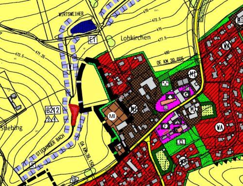 Bekanntmachung über die Genehmigung des Flächennutzungsplanes Deckblatt Nr. 5 für das Gebiet Ortsstraße-West