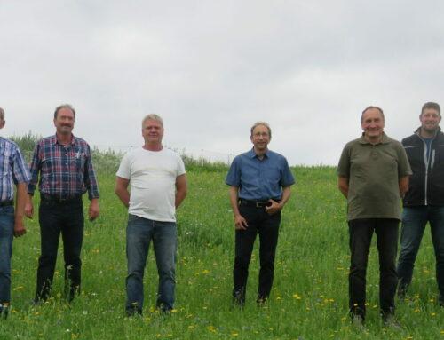 Vorstandschaft für Flurneuordnung in Oberbergkirchen gewählt