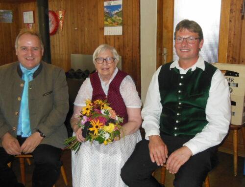 Rosa Lohr feierte 80. Geburtstag