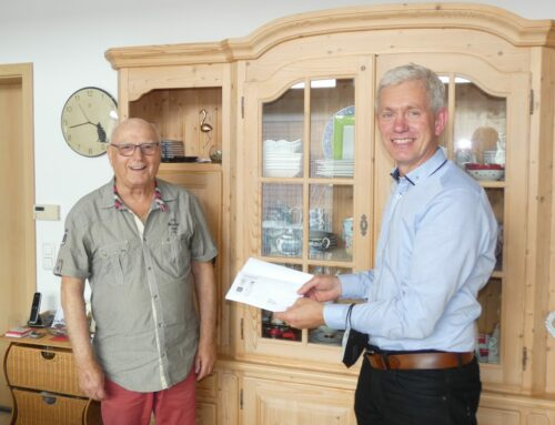 Walter Graf feierte 80. Geburtstag
