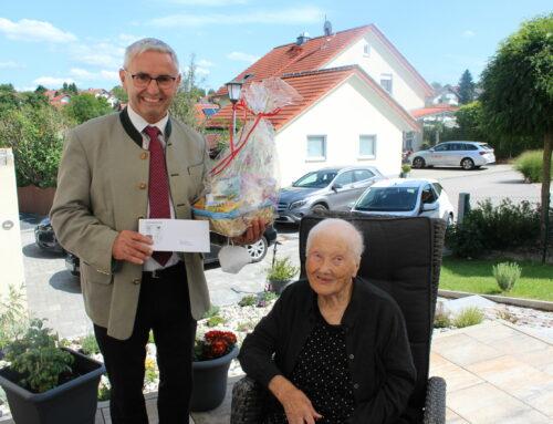 Susana Kilyan feierte 100. Geburtstag