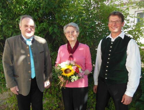 Resi Eberl feierte 80. Geburtstag