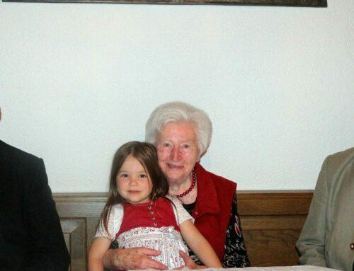 Anna Lanzinger vollendete 90. Lebensjahr