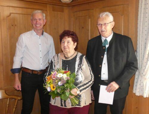 Ehepaar Penninger feierte Eiserne Hochzeit