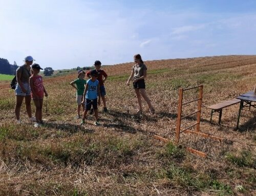 Landjugend bot Schnitzeljagd durch Zangberg im Ferienprogramm